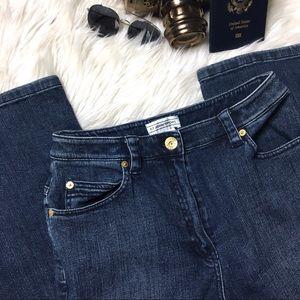 ST. JOHN Vintage High Waisted Blue Jeans